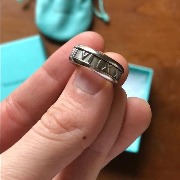 f994cfd43a7 Tiffany & Co. Jewelry   Tiffany Atlas Ring 55   Poshmark